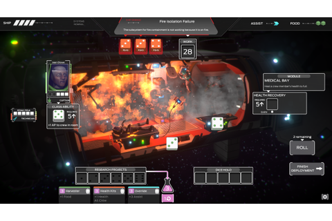 Tharsis is a Rogue-Like Perma-Death Strategy Game With ...