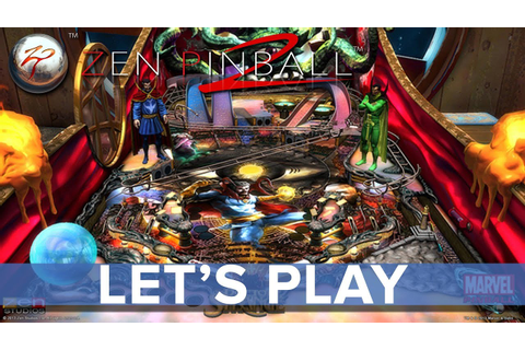 Zen Pinball 2 (PS4 Edition) - Let's Play - Eurogamer - YouTube