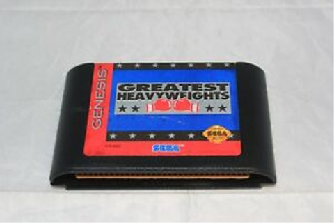 Greatest Heavyweights (Sega Genesis, 1993) Cart/Game Only ...