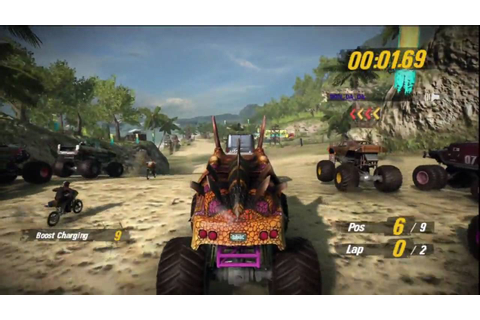 MotorStorm Pacific Rift Multiplayer - Kanaloa Bay - YouTube