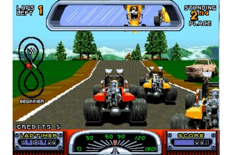 Road Riot 4WD (Arcade) - YouTube