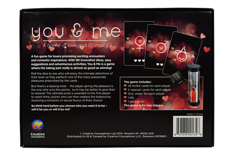You & Me - A Game of Love & Intimacy Adult Game ...