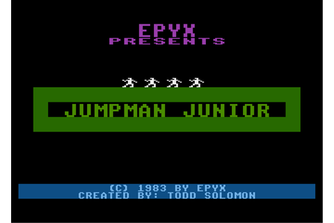 Download Jumpman Junior - My Abandonware