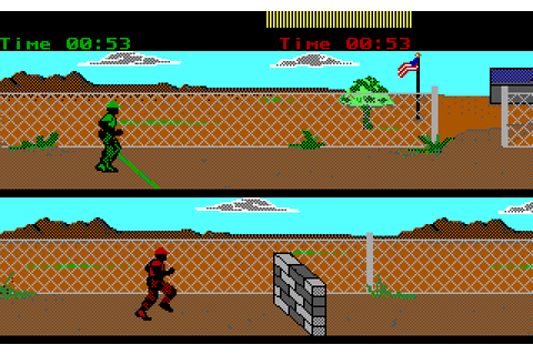 Combat School (1987) by Banana Development MS-DOS game