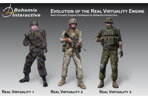 The Real Virtuality Engine Evolution | Developer's Blog