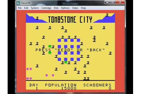 Tombstone City 21st Century - Texas Instruments TI-99-4A ...