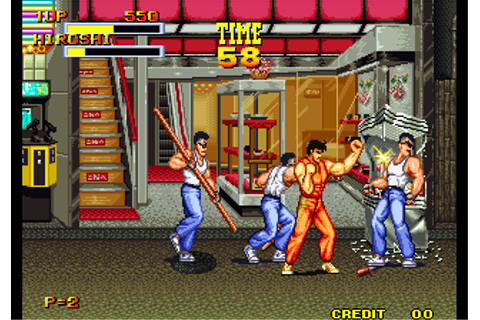 Burning Fight (NGM-018)(NGH-018) ROM Download for MAME ...