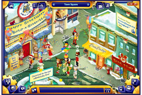 Games Like BearVille - Virtual Worlds for Teens