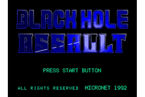 Play Blackhole Assault Sega CD online | Play retro games ...