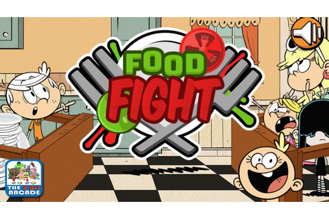 The Loud House: Food Fight - Defend Lincoln From The ...