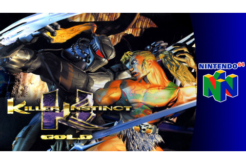 Nintendo 64 Longplay: Killer Instinct Gold - YouTube