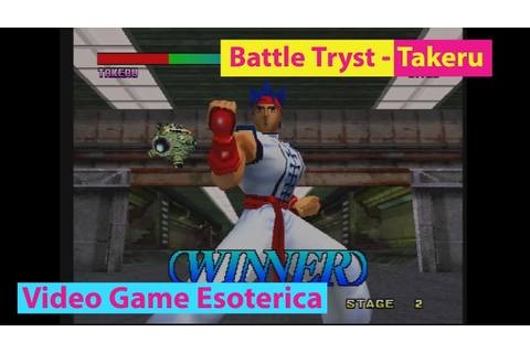 Battle Tryst - Takeru Gameplay - 3DO M2 - Video Game ...