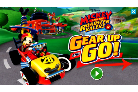 Disney Jr. Mickey And The Roadster Racers: Gear Up And Go ...