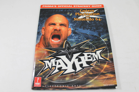 Wcw Mayhem Guide - Prima Games