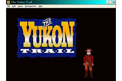 Yukon Trail, The Download (1994 Educational Game)
