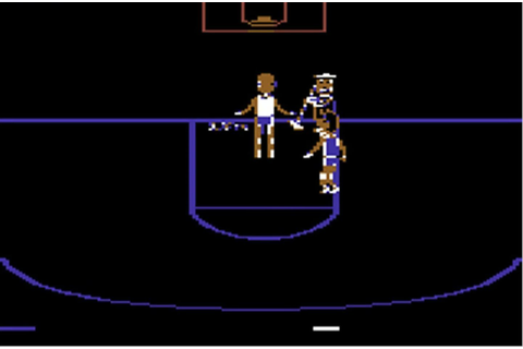 One on One: Dr. J vs. Larry Bird, Game Museum | Retroinvaders