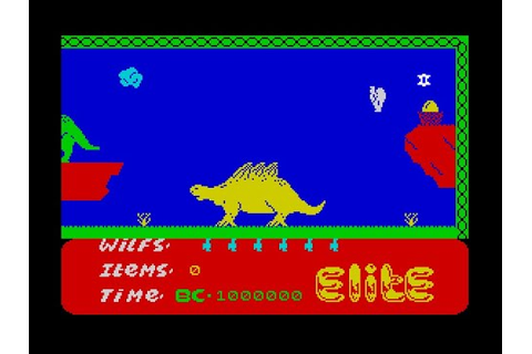 Kokotoni Wilf Walkthrough, ZX Spectrum - YouTube