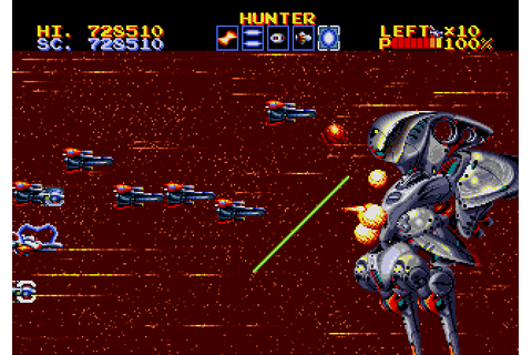 Thunder Force IV (1992) by Technosoft Mega Drive game