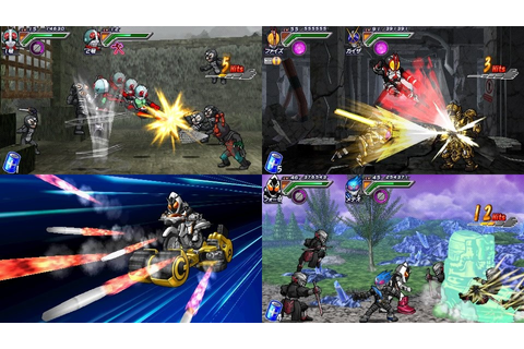 Download Game Kamen Rider Chou Climax Heroes Psp Iso ...
