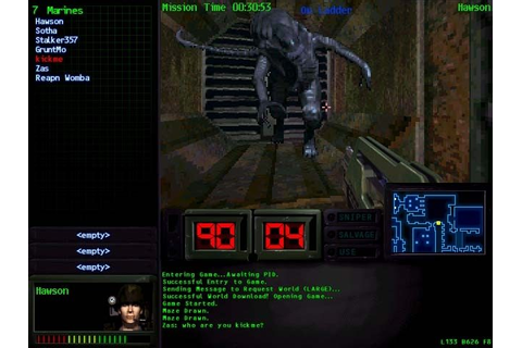 Aliens Online (1998) by Mythic Entertainment Windows game