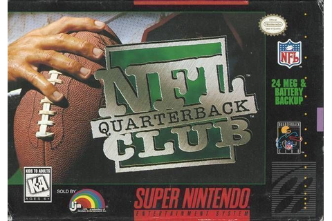 NFL Quarterback Club ROM - Super Nintendo (SNES ...