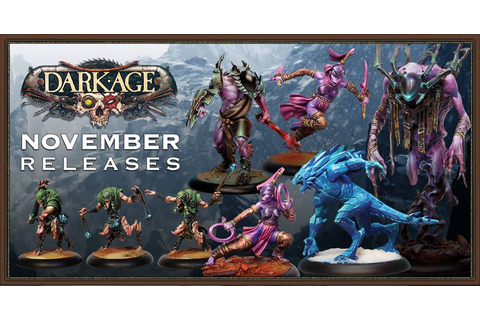 Tabletop Fix: Dark Age Games - November Releases