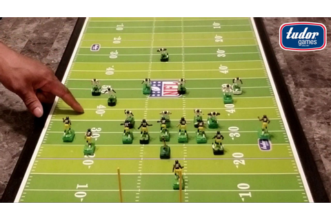 Electric Football Defensive Pass Play Strategy - YouTube