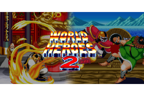 WORLD HEROES 2 | Virtual Console (Wii) | Games | Nintendo