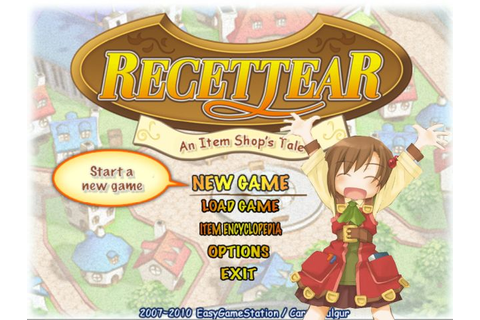 Download Game OFFLINE: Recettear: An Item Shop's Tale 2010