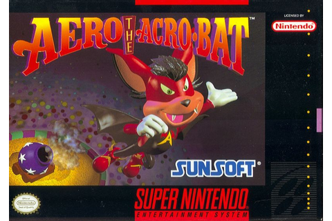Aero the Acro-Bat for SNES (1993) - MobyGames