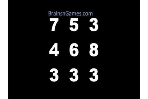 Math Brain Game - Take on the Number Box! - YouTube