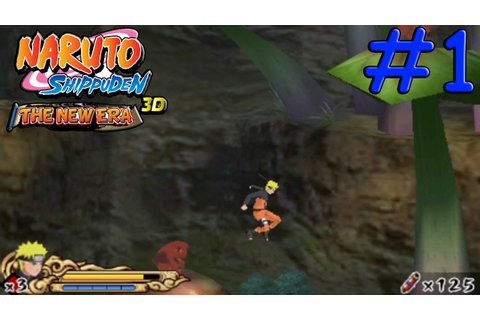Naruto Shippuden The New Era 100% Walkthrough Part 1 - YouTube