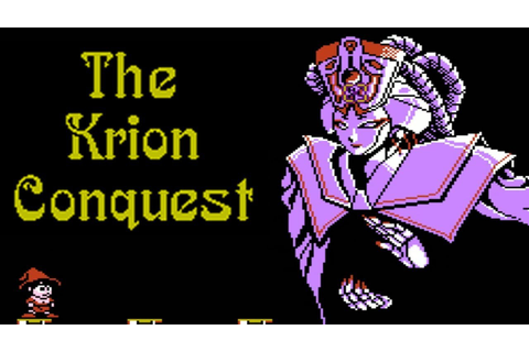 The Krion Conquest (NES)// All Bosses - YouTube