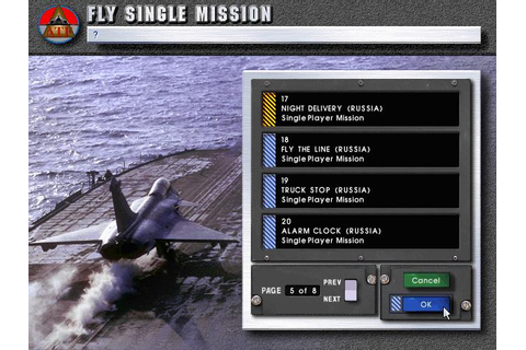 ATF: Advanced Tactical Fighters Download (1996 Simulation ...