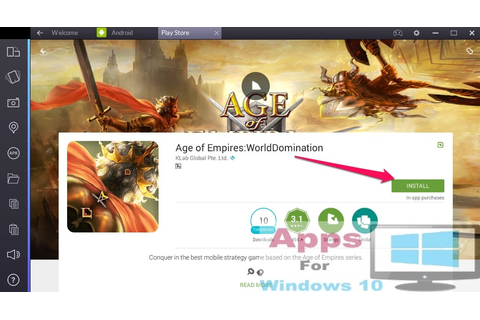 Age of Empires World Domination for PC Windows 10 & Mac ...