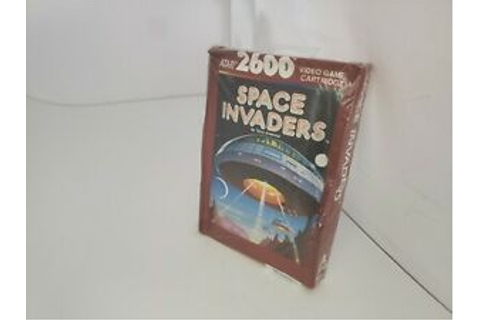 NEW W/CRUSHED BOX SPACE INVADERS GAME FOR PAL ATARI 2600 ...