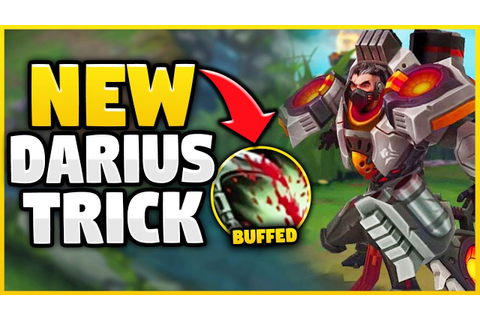 *NEW* INSANELY OP DARIUS STRATEGY! (WIN GAME BY 5 MINUTES ...