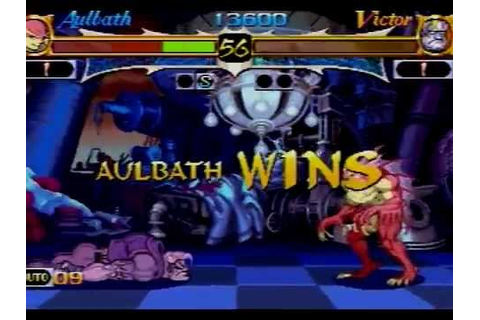 Night Warriors Darkstalkers Revenge Sega Saturn Full Game ...