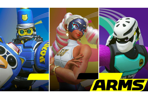 Preview: Going Some Rounds With ARMS on Nintendo Switch ...