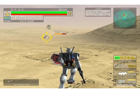 Mobile Suit Gundam: Journey to Jaburo Download Game ...