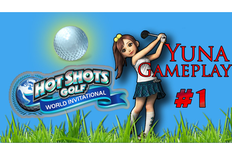 Hot shots golf gameplay for the Ps Vita - YouTube