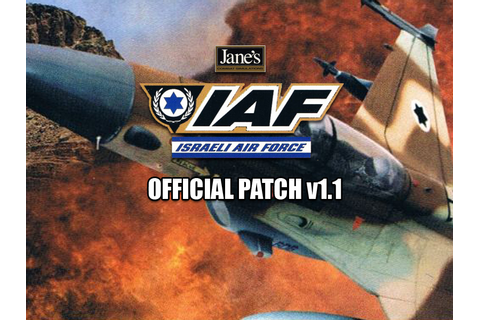 Jane's Israeli Air Force v1.1 English Patch file - Mod DB