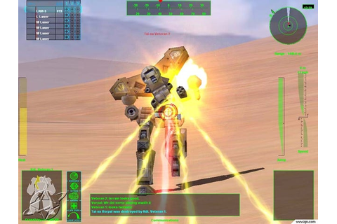 Multiplayer BattleTech: 3025 Screenshots, Pictures ...