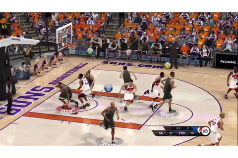 NBA Live 10 - 1st Online Ranked Game - YouTube