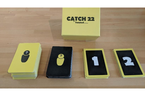 Catch 22 - The Twisted Card Game by David Okere —Kickstarter