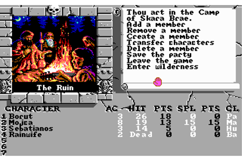 Download Bards Tale III - Thief of Fate, The | Abandonia