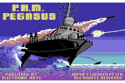 PHM Pegasus (1987) by Lucasfilm Games C64 game