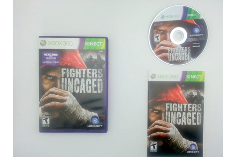Fighters Uncaged game for Microsoft Xbox 360 -Complete ...