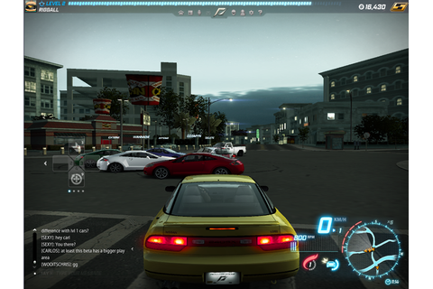 Video Games: Need For Speed World
