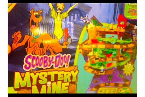 SCOOBY-DOO MYSTERY MINE Game - YouTube